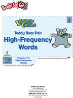 High-Frequency Words - Teddy Bear Pair Literacy Center