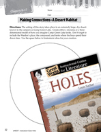 Holes Making Cross-Curricular Connections (Great Works Series)