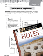 Holes Studying the Story Elements (Great Works Series)