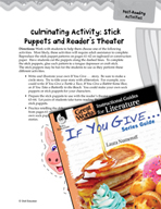 If You Give . . . Series Guide Post-Reading Activities (Gr