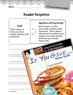 If You Give . . . Series Guide Reader Response Writing Prompts (Great Works Series)