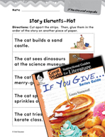 If You Give . . . Series Guide Studying the Story Elements (Great Works Series)