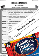 Individual Differences - Helping Monkeys Reader's Theater Script and Lesson