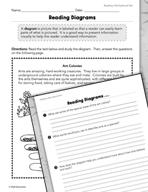 Informational Text: Diagrams Practice
