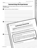 Informational Text: Summarizing Practice