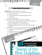Island of the Blue Dolphins Comprehension Assessment (Great Works Series)