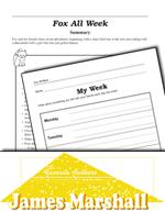 James Marshall Literature Activities - Fox All Week