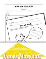 James Marshall Literature Activities - Fox on the Job