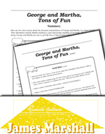 James Marshall Literature Activities - George and Martha, Tons of Fun