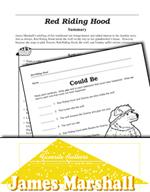 James Marshall Literature Activities - Red Riding Hood