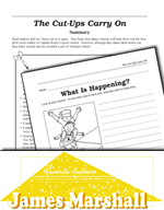 James Marshall Literature Activities - The Cut-Ups Carry On