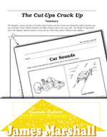 James Marshall Literature Activities - The Cut-Ups Crack Up