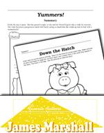 James Marshall Literature Activities - Yummers!