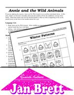 Jan Brett Literature Activities - Annie and the Wild Animals