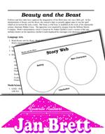 Jan Brett Literature Activities - Beauty and the Beast