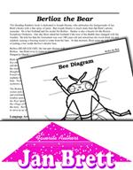 Jan Brett Literature Activities - Berlioz the Bear