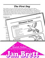 Jan Brett Literature Activities - The First Dog