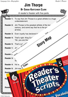 Jim Thorpe Reader's Theater Script and Lesson