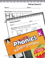 Kindergarten Foundational Phonics Skills: Primary Sound h