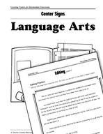 Language Arts Centers for Intermediate Classrooms
