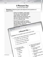 Language Arts Test Preparation Level 3 - A Pleasant Day (P