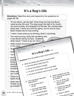 Language Arts Test Preparation Level 3 - It's a Dog's Life