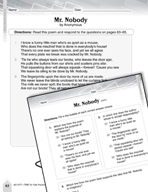 Language Arts Test Preparation Level 4 - Mr. Nobody (Practicing for Today's Tests Series)