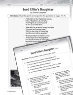 Language Arts Test Preparation Level 5 - Lord Ullin's Daug