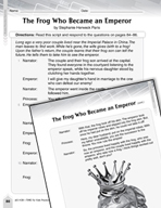 Language Arts Test Preparation Level 5 - The Frog Who Beca