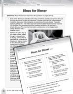 Language Arts Test Preparation Level 6 - Dinos for Dinner