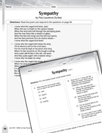 Language Arts Test Preparation Level 6 - Sympathy and Shirley Chisholm (Practicing for Today's Tests Series)
