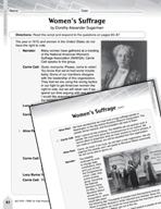 Language Arts Test Preparation Level 6 - Women's Suffrage (Practicing for Today's Tests Series)