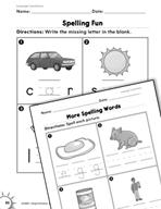 Language Conventions: Spelling Practice