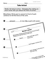 Language Conventions: Verbs Practice
