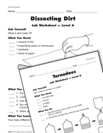 Learning Center Activities for Earth Science