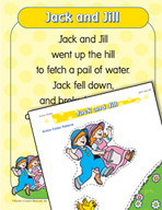 """Learning Center Activities for """"Jack and Jill"""""""