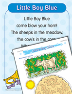 "Learning Center Activities for ""Little Boy Blue"""