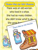 "Learning Center Activities for ""There Was an Old Woman"""