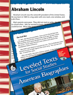 Leveled Texts: Abraham Lincoln