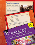 Leveled Texts: Add and Subtract Fractions-Together or Apart