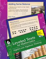 Leveled Texts: Addition Equations-Adding Some Balance