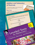 Leveled Texts: Addition and Subtraction of Decimals