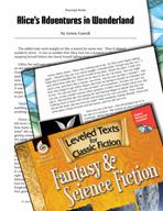 Leveled Texts: Alice's Adventures in Wonderland