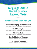 Leveled Texts - American Civil War Text Set