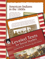 Leveled Texts: American Indians in the 1800s