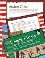 Leveled Texts: Ancient China