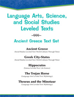 Leveled Texts - Ancient Greece Text Set