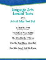 Leveled Texts - Animal Tales Text Set
