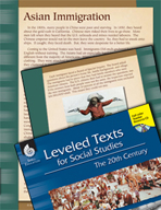 Leveled Texts: Asian Immigration