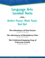 Leveled Texts - Author Focus: Mark Twain Text Set